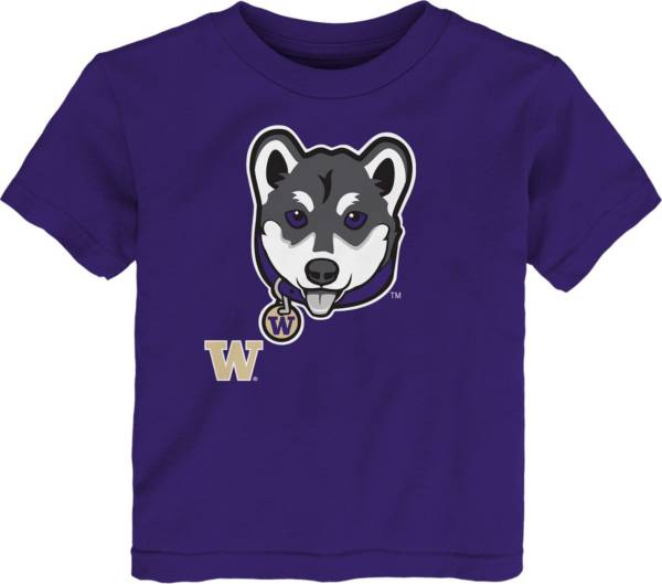 Gen2 Toddler Washington Huskies Purple Headshot T-Shirt product image