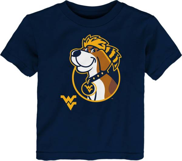 Gen2 Toddler West Virginia Mountaineers Blue Headshot T-Shirt product image