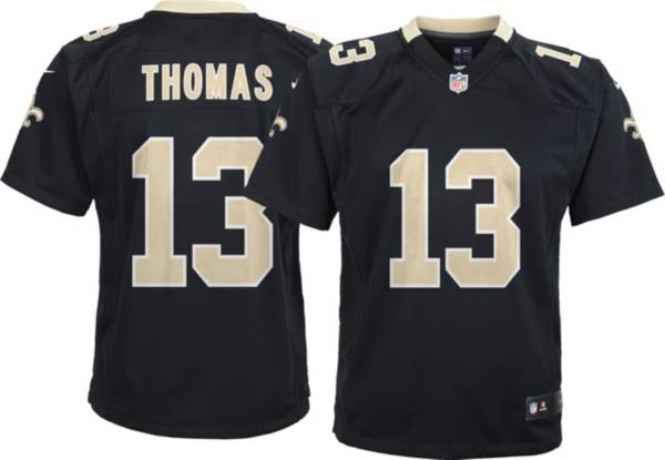 Nike Youth New Orleans Saints Michael Thomas #13 Black Game Jersey product image
