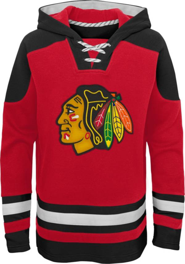 NHL Youth Chicago Blackhawks Ageless Red Pullover Hoodie product image