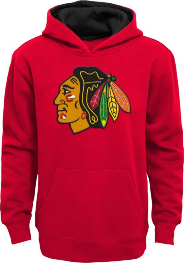 NHL Youth Chicago Blackhawks Prime Fleece Red Pullover Hoodie product image