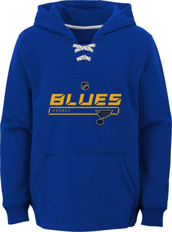 NHL Youth St. Louis Blues On Ice Royal Pullover Hoodie product image
