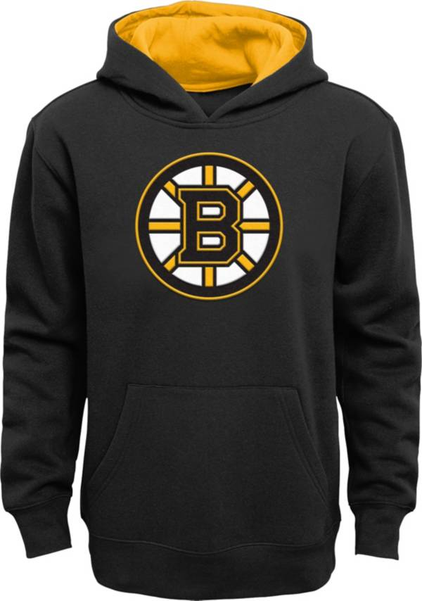 NHL Youth Boston Bruins Prime Fleece Black Pullover Hoodie product image