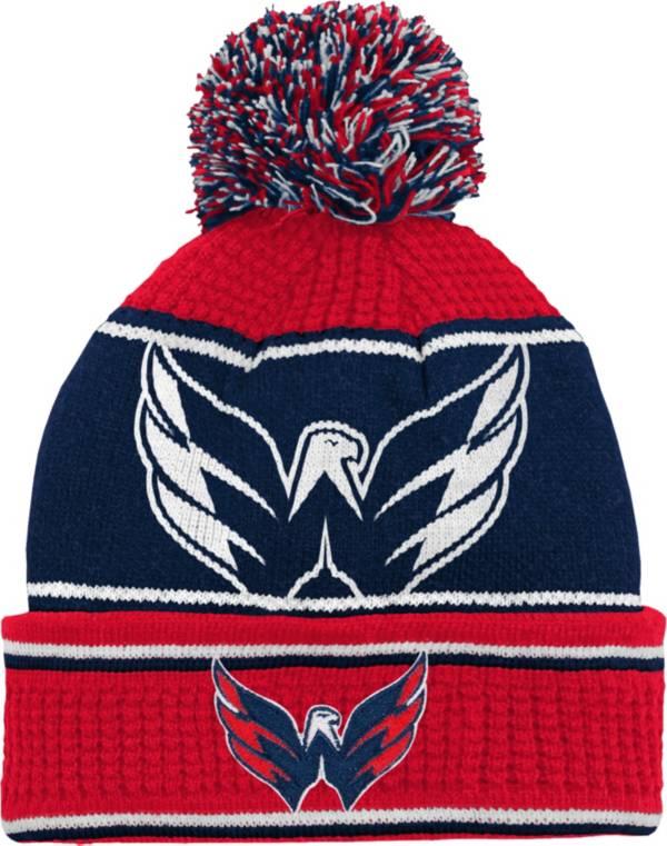 NHL Youth Washington Capitals Grind Cuff Pom Knit Beanie product image