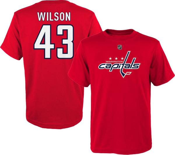 NHL Youth Washington Capitals Tom Wilson #43 Red Player T-Shirt product image