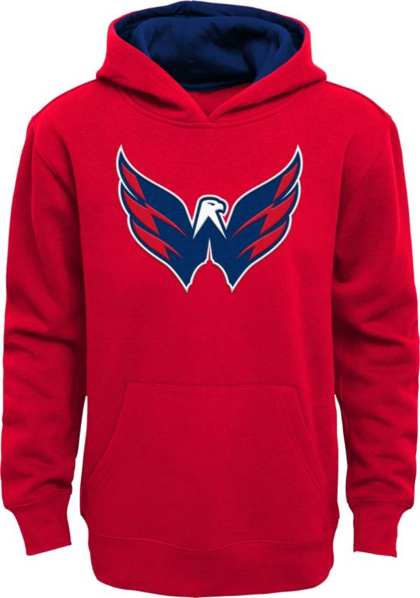 NHL Youth Washington Capitals Prime Fleece Red Pullover Hoodie product image
