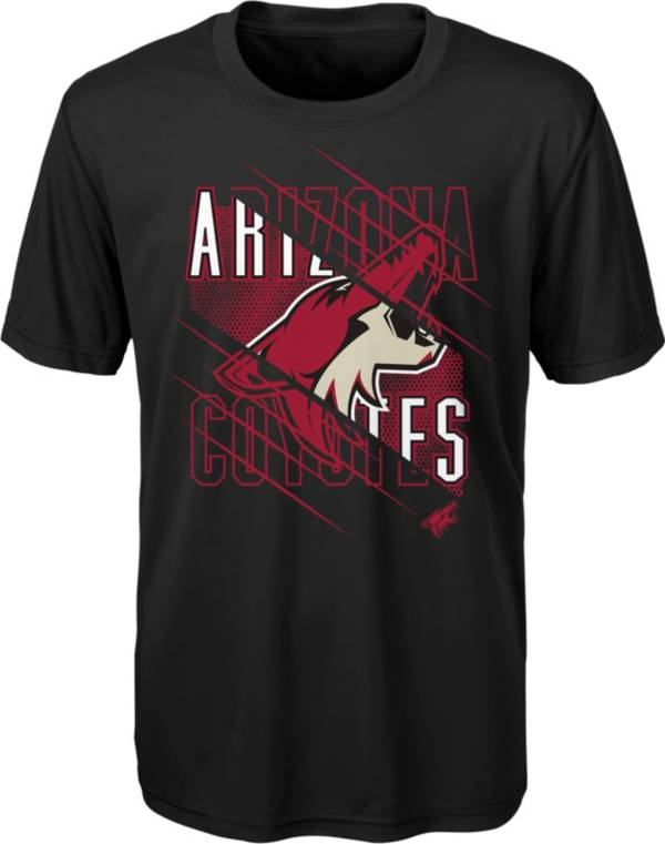 NHL Youth Arizona Coyotes Underneath Black Performance T-Shirt product image