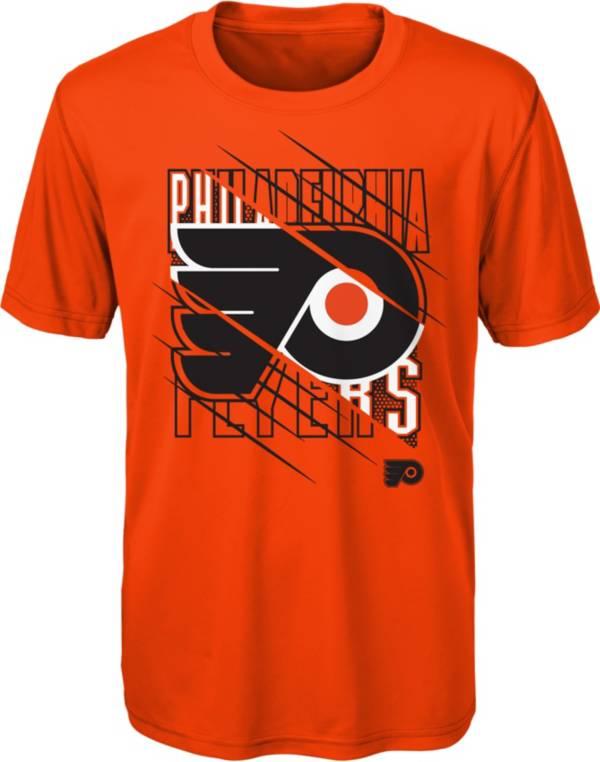 NHL Youth Philadelphia Flyers Underneath Orange Performance T-Shirt product image