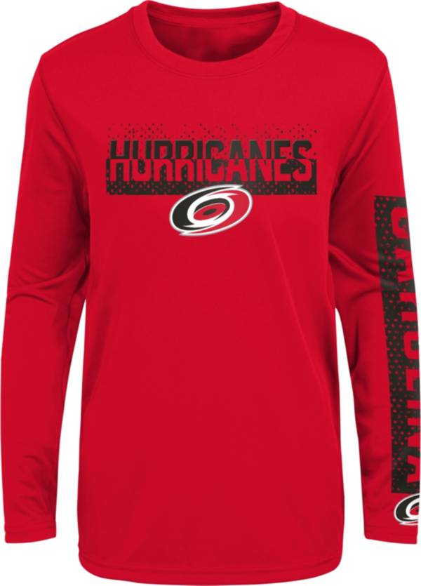 NHL Youth Carolina Hurricanes Slap Shot Red Long Sleeve Shirt product image