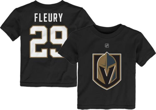 NHL Toddler Vegas Golden Knights Marc-Andre Fleury 29 Black Player T-Shirt product image