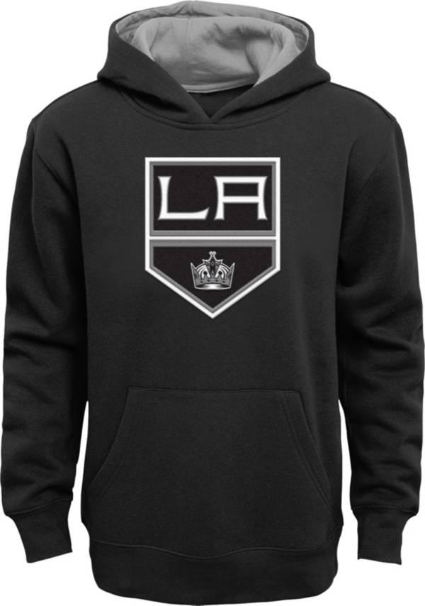NHL Youth Los Angeles Kings Prime Fleece Black Pullover Hoodie product image