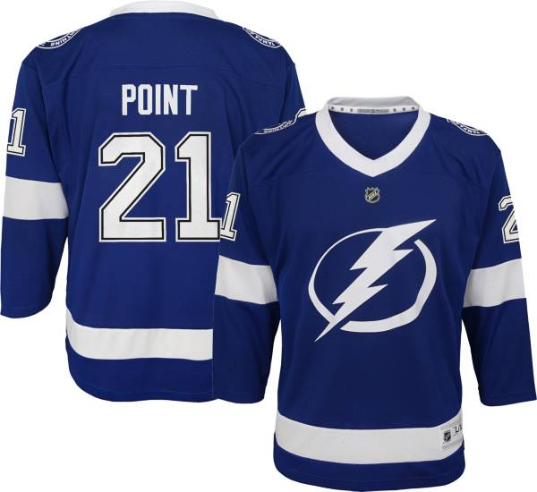 NHL Youth Tampa Bay Lightning Brayden Point #21 Replica Home Jersey product image