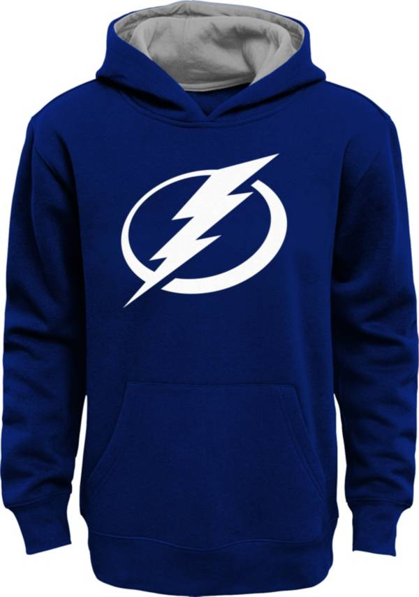NHL Youth Tampa Bay Lightning Prime Fleece Blue Pullover Hoodie product image