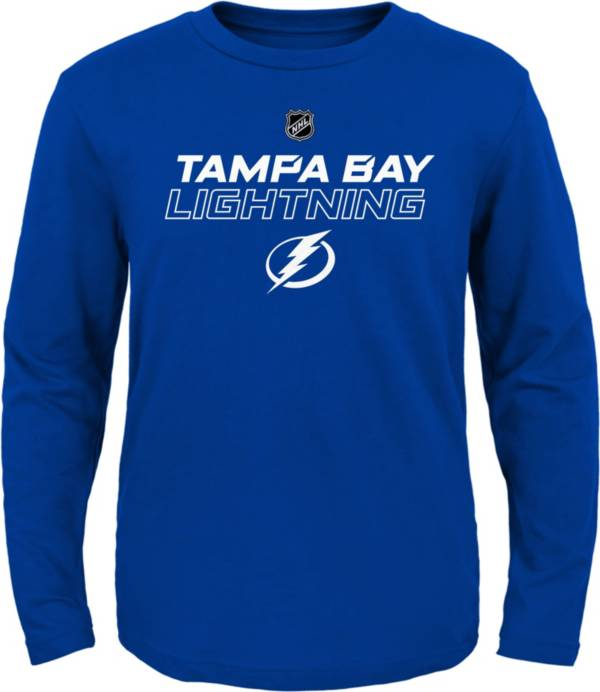 NHL Youth Tampa Bay Lightning Prime Stock Navy T-Shirt product image