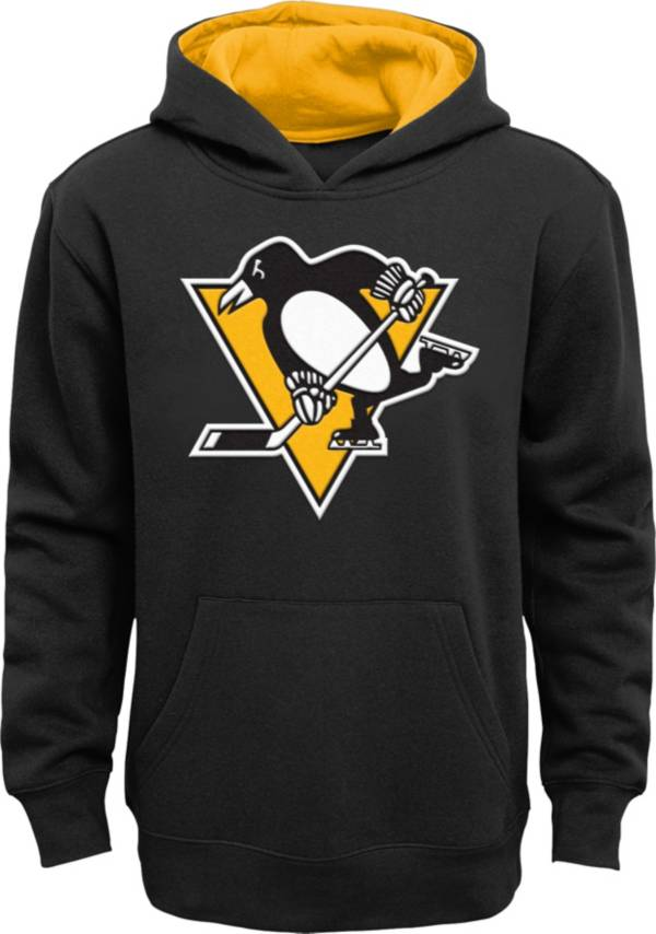NHL Youth Pittsburgh Penguins Prime Fleece Black Pullover Hoodie product image