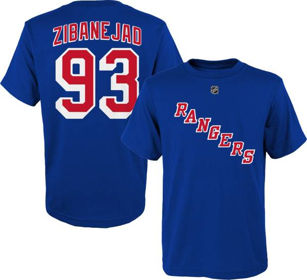 NHL Youth New York Rangers Mika Zibanejad #93  Player T-Shirt product image