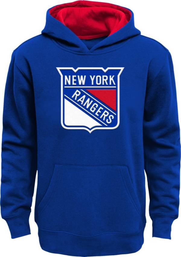 NHL Youth New York Rangers Prime Fleece Royal Pullover Hoodie product image