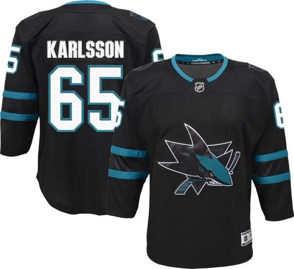 NHL Youth San Jose Sharks Erik Karlsson #65 Premier Alternate Jersey product image