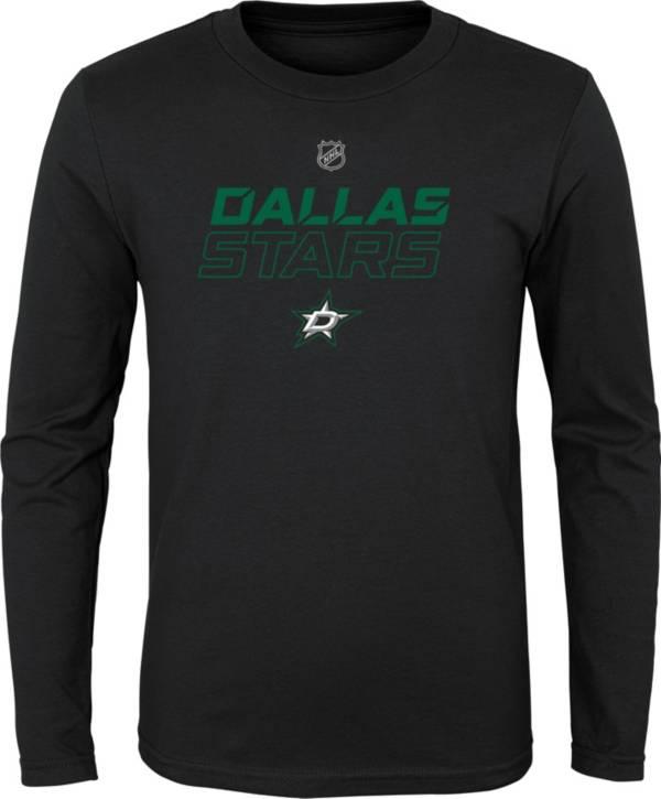 NHL Youth Dallas Stars Prime Stock Navy Long Sleeve Shirt product image