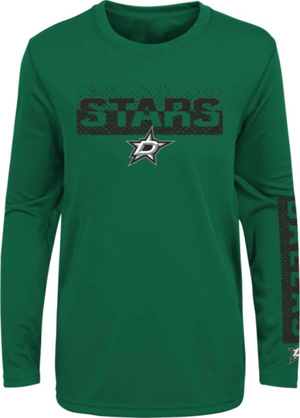 NHL Youth Dallas Stars Slap Shot Green Long Sleeve Shirt product image