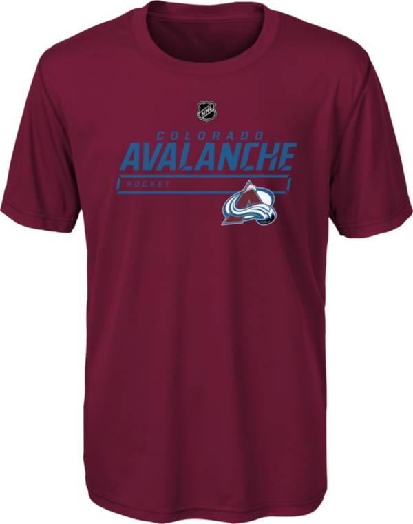 NHL Youth Colorado Avalanche On Ice Red Performance T-Shirt product image