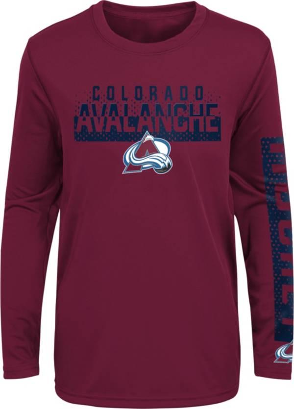 NHL Youth Colorado Avalanche Slap Shot Maroon Long Sleeve Shirt product image