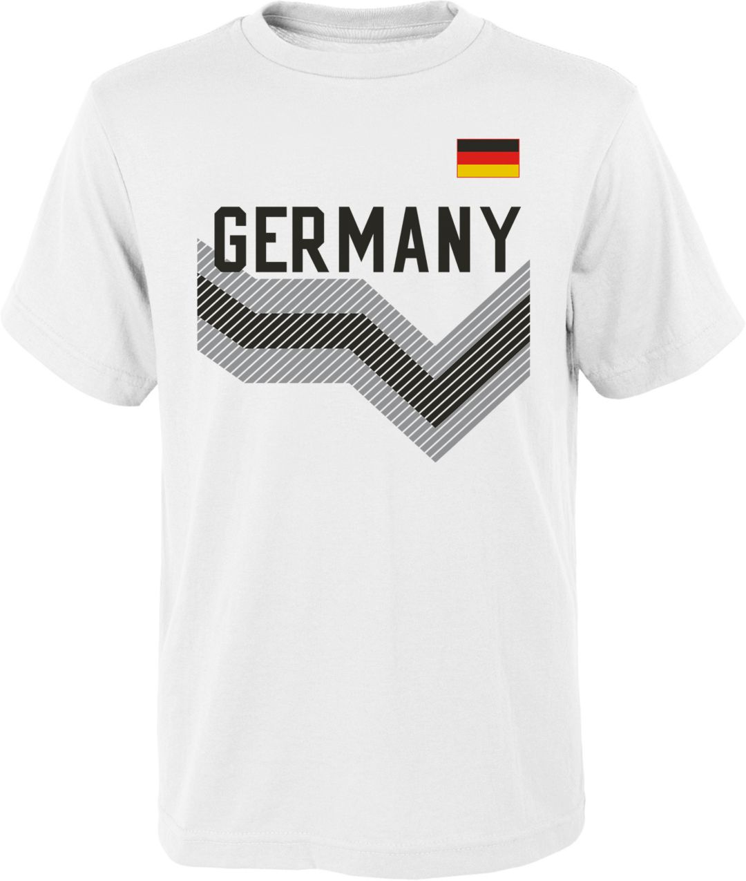 1832b01b Outerstuff Youth Germany One Team White T-Shirt