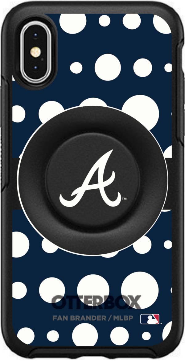Otterbox Atlanta Braves Polka Dot iPhone Case with PopSocket product image
