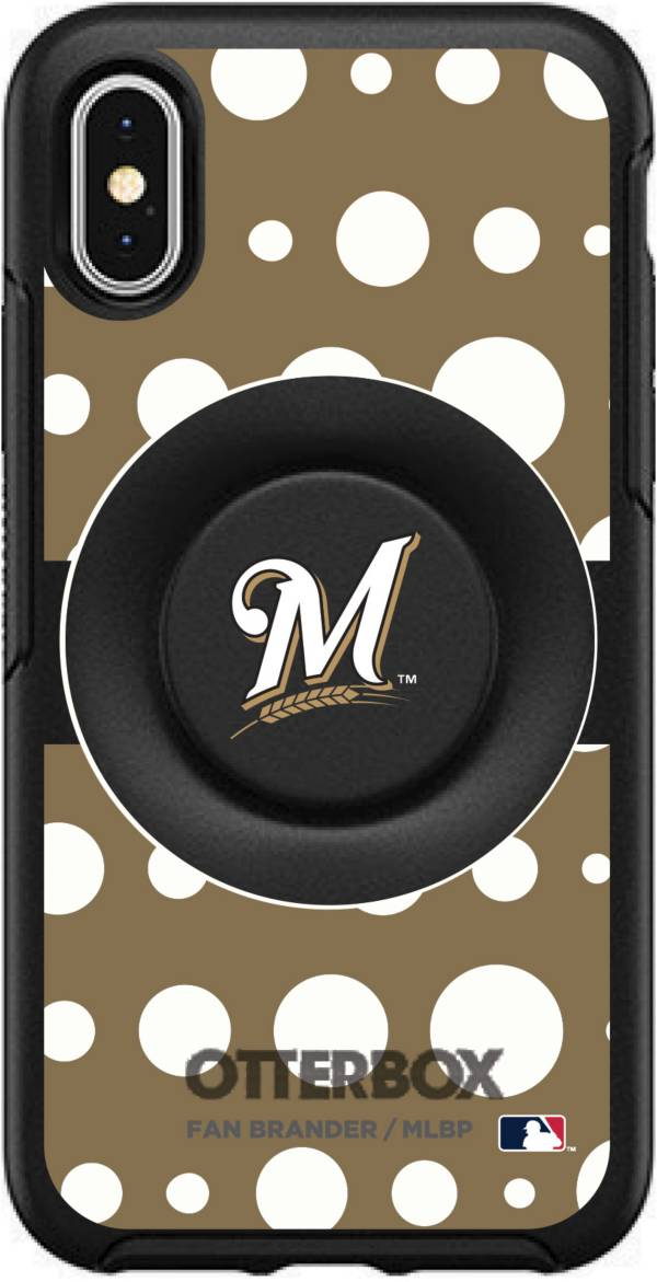 Otterbox Milwaukee Brewers Polka Dot iPhone Case with PopSocket product image