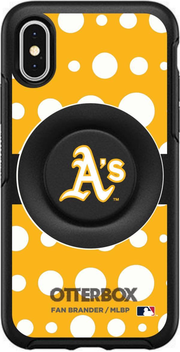 Otterbox Oakland Athletics Polka Dot iPhone Case with PopSocket product image