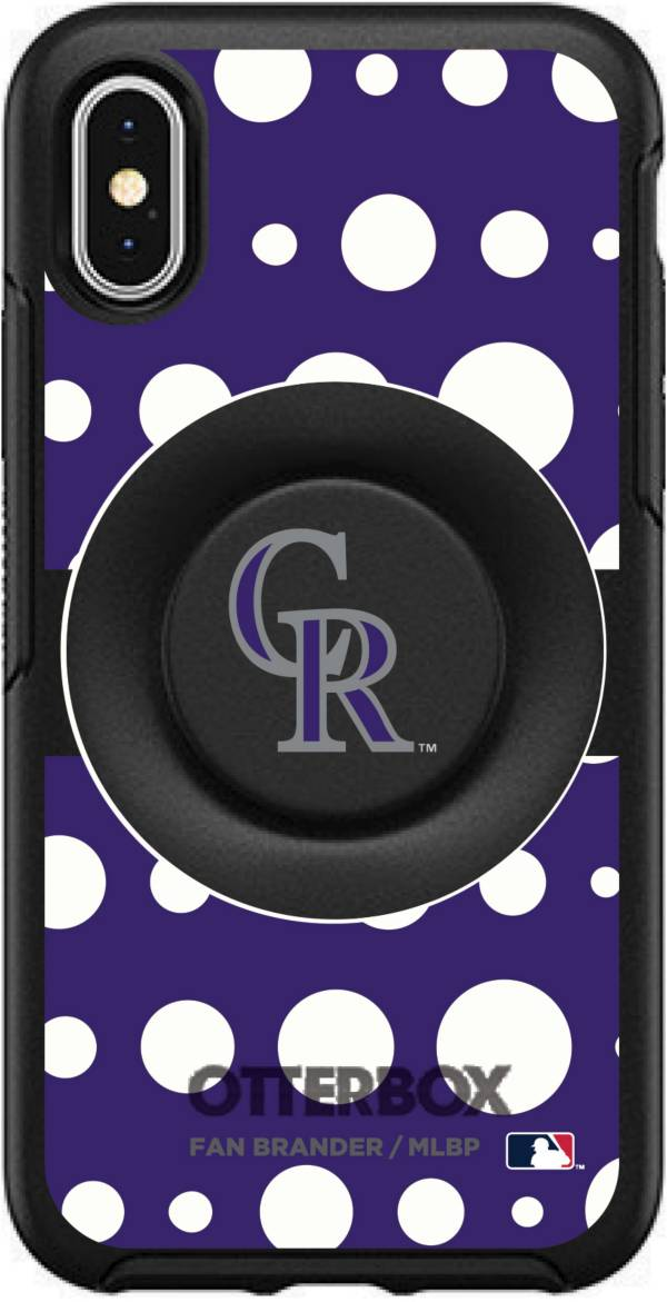Otterbox Colorado Rockies Polka Dot iPhone Case with PopSocket product image