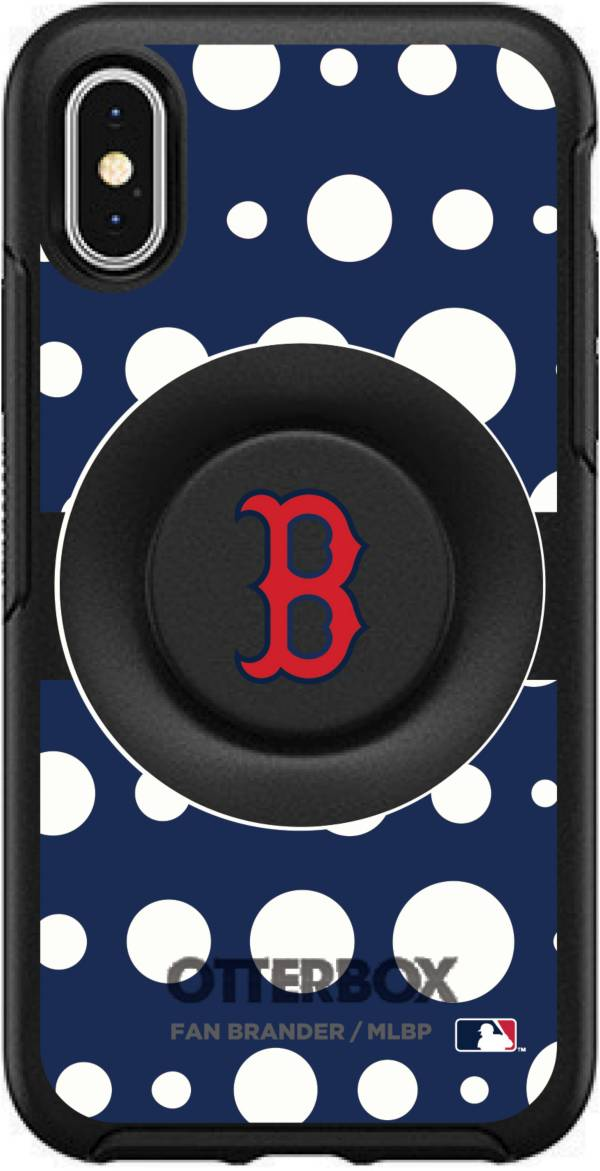 Otterbox Boston Red Sox Polka Dot iPhone Case with PopSocket product image