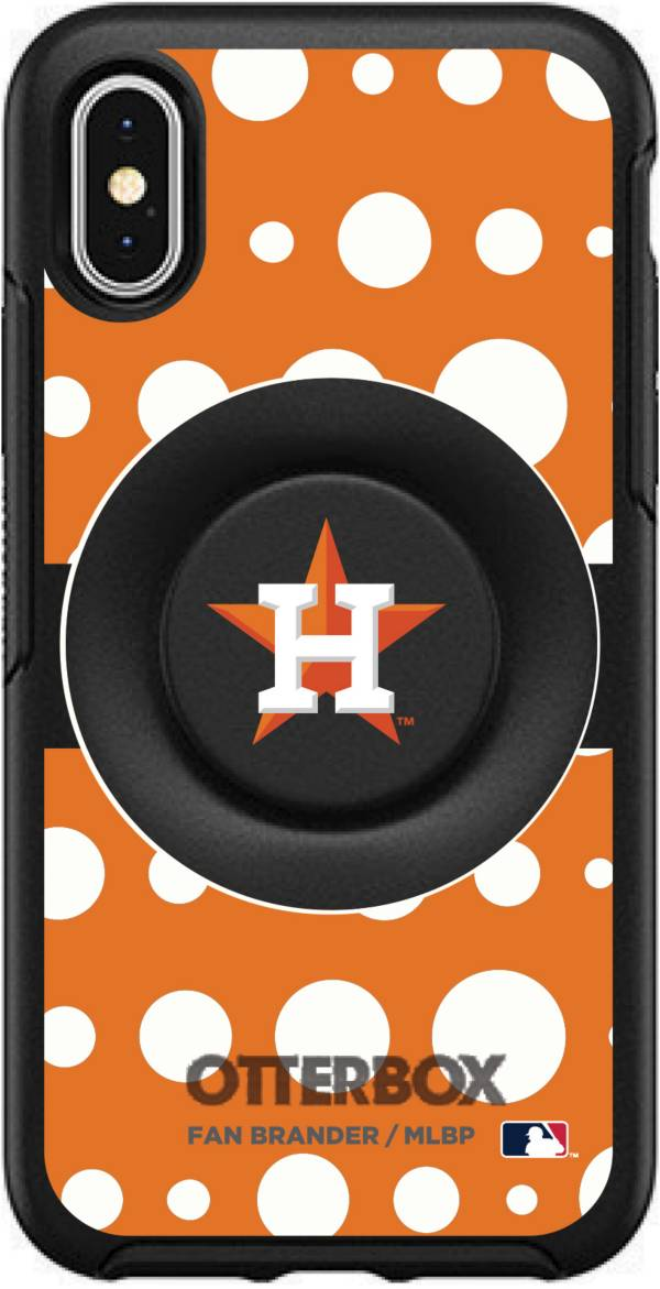 Otterbox Houston Astros Polka Dot iPhone Case with PopSocket product image