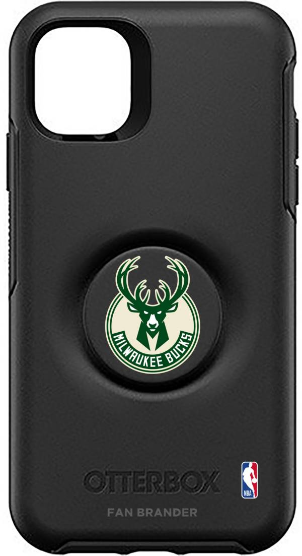 Otterbox Milwaukee Bucks Black iPhone Case with PopSocket product image