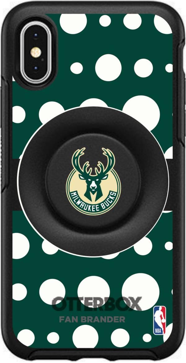 Otterbox Milwaukee Bucks Polka Dot iPhone Case with PopSocket product image