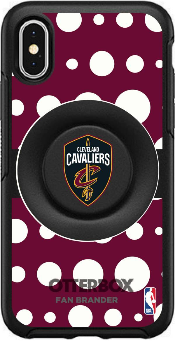 Otterbox Cleveland Cavaliers Polka Dot iPhone Case with PopSocket product image