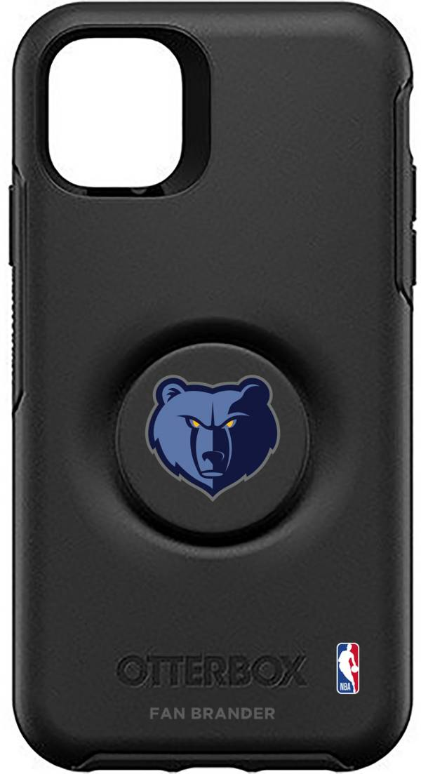 Otterbox Memphis Grizzlies Black iPhone Case with PopSocket product image