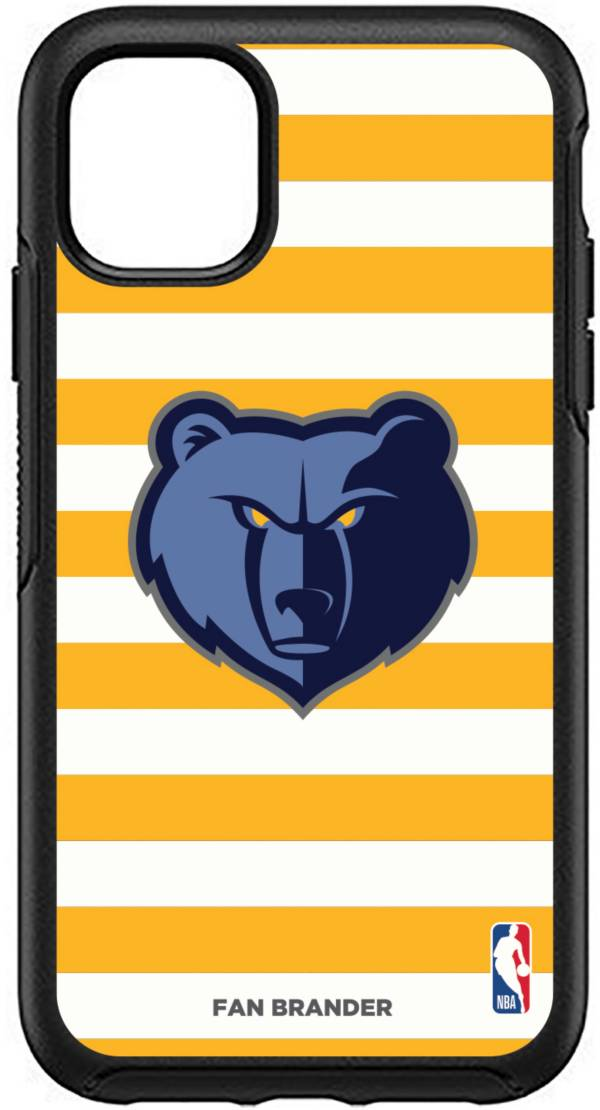 Otterbox Memphis Grizzlies Striped iPhone Case product image