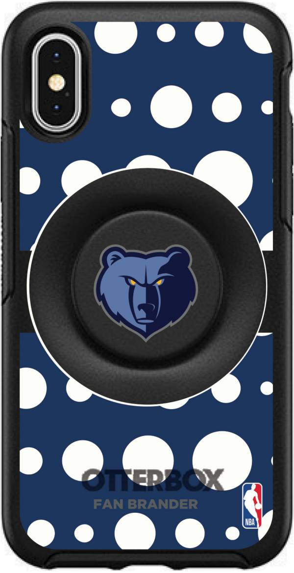 Otterbox Memphis Grizzlies Polka Dot iPhone Case with PopSocket product image