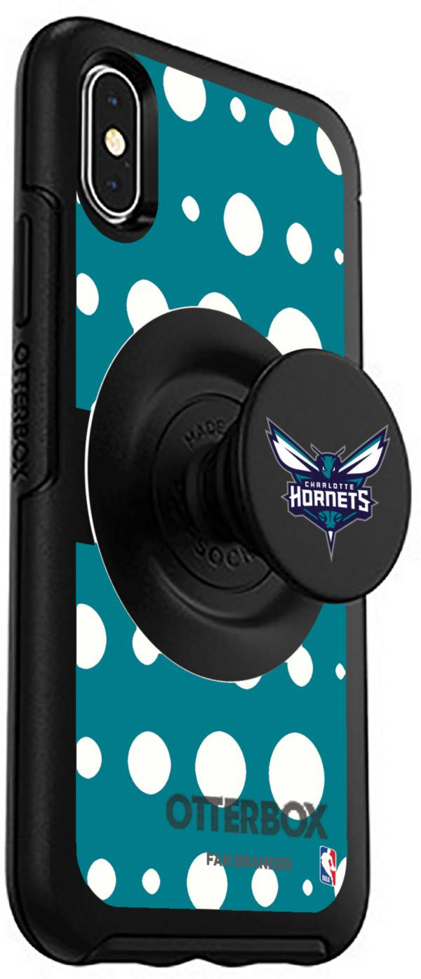 Otterbox Charlotte Hornets Polka Dot iPhone Case with PopSocket product image