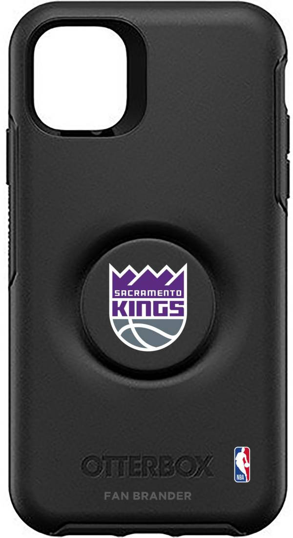Otterbox Sacramento Kings Black iPhone Case with PopSocket product image
