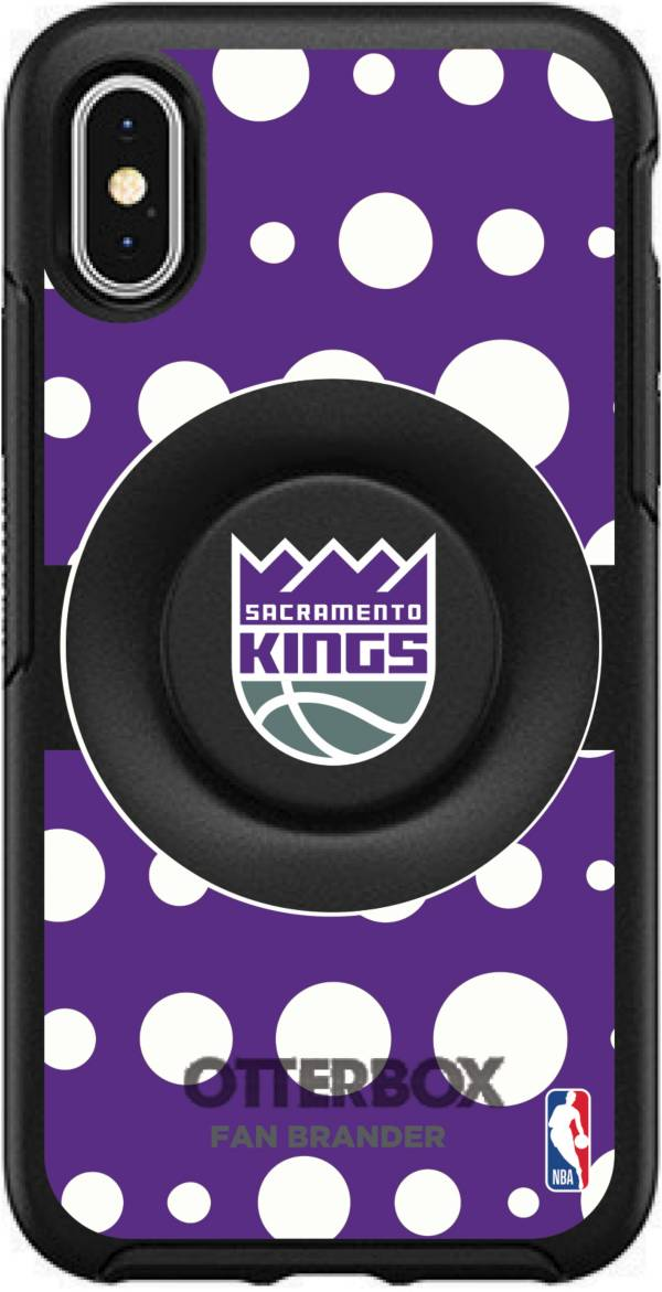 Otterbox Sacramento Kings Polka Dot iPhone Case with PopSocket product image