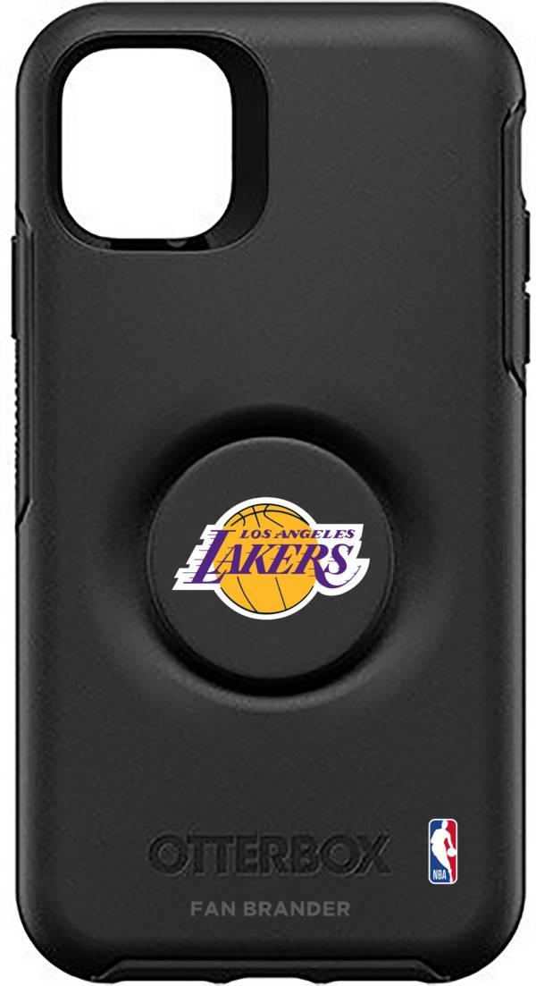 Otterbox Los Angeles Lakers Black iPhone Case with PopSocket product image