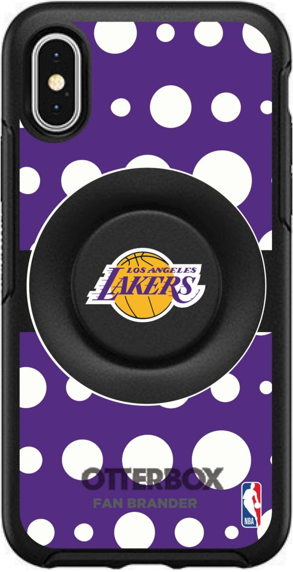 Otterbox Los Angeles Lakers Polka Dot iPhone Case with PopSocket product image