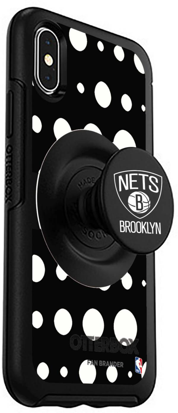 Otterbox Brooklyn Nets Polka Dot iPhone Case with PopSocket product image