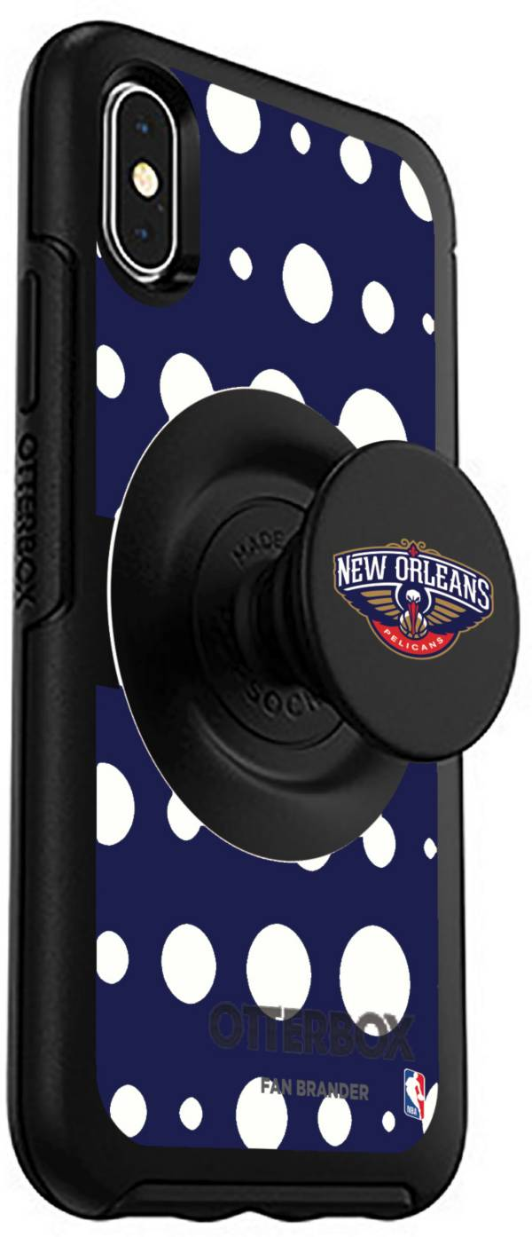 Otterbox New Orleans Pelicans Polka Dot iPhone Case with PopSocket product image