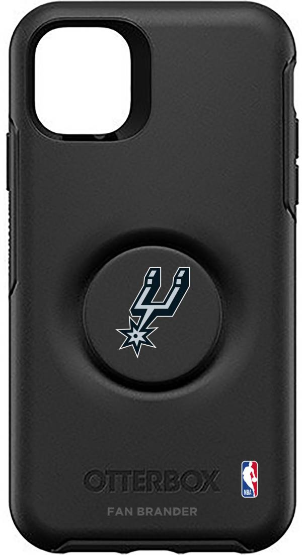 Otterbox San Antonio Spurs Black iPhone Case with PopSocket product image