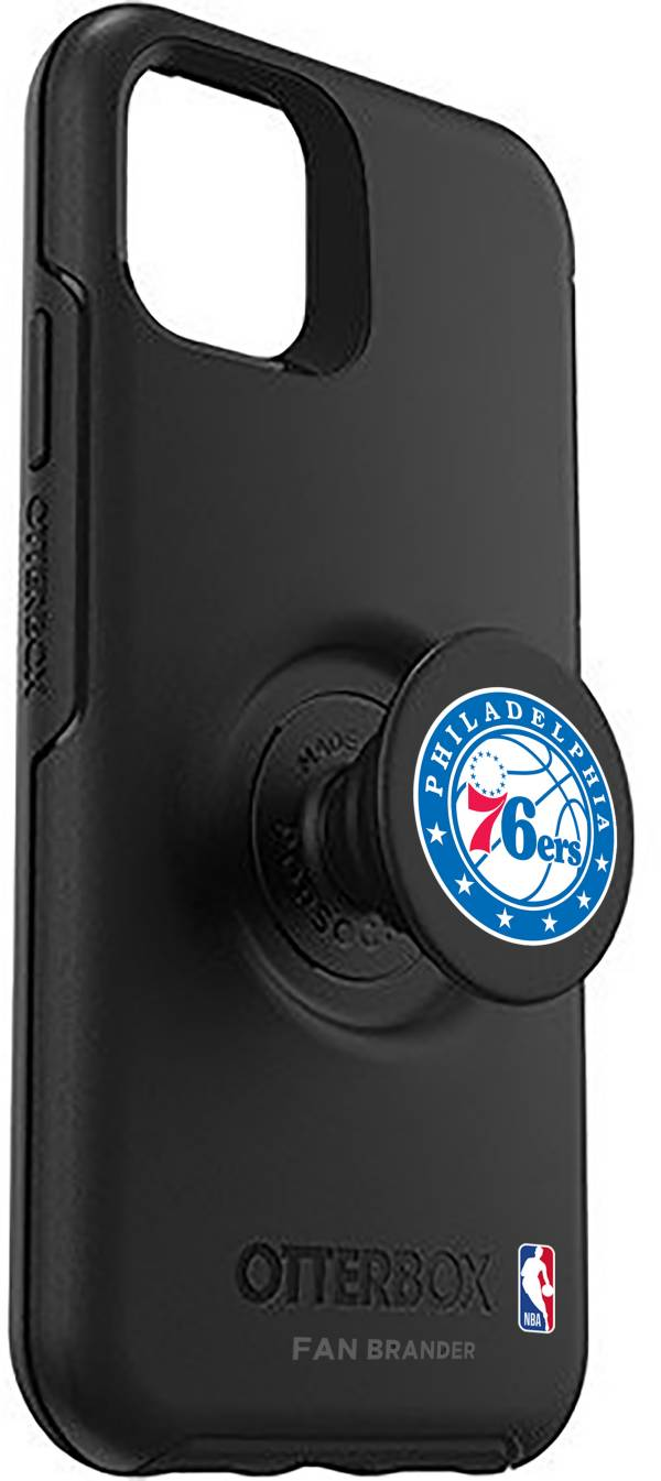 Otterbox Philadelphia 76ers Black iPhone Case with PopSocket product image