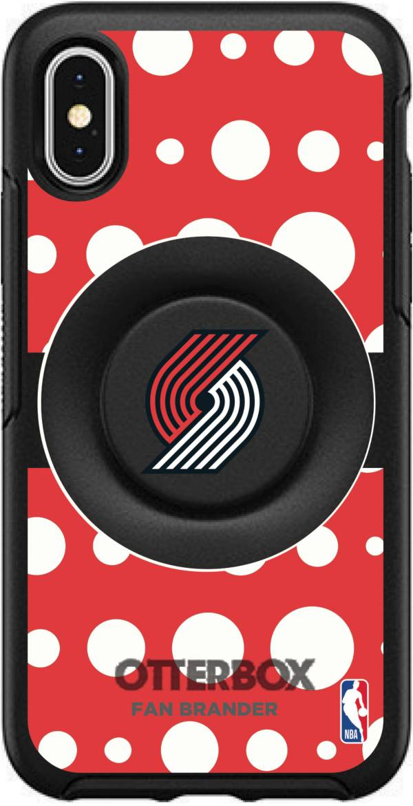 Otterbox Portland Trail Blazers Polka Dot iPhone Case with PopSocket product image