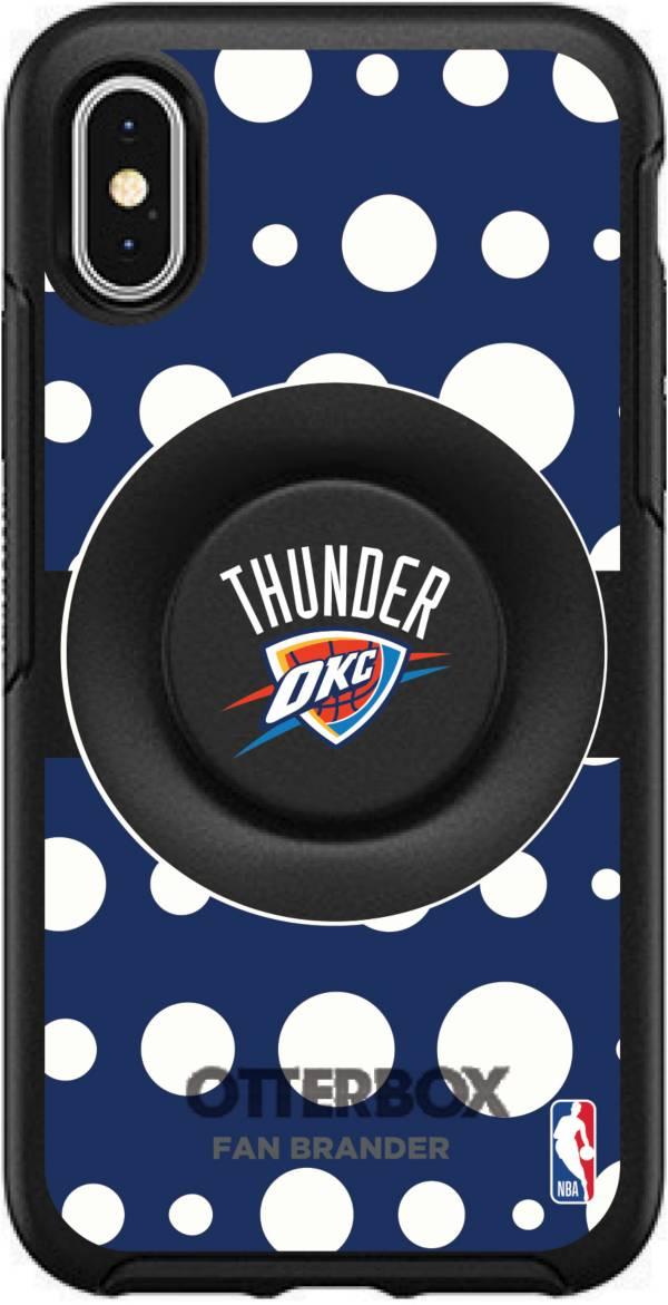 Otterbox Oklahoma City Thunder Polka Dot iPhone Case with PopSocket product image